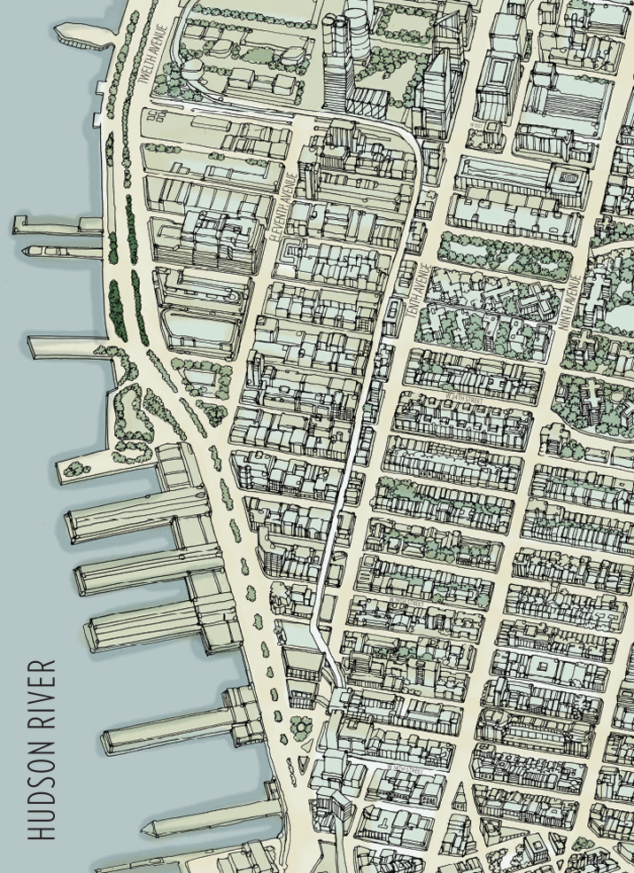 West Chelsea Map